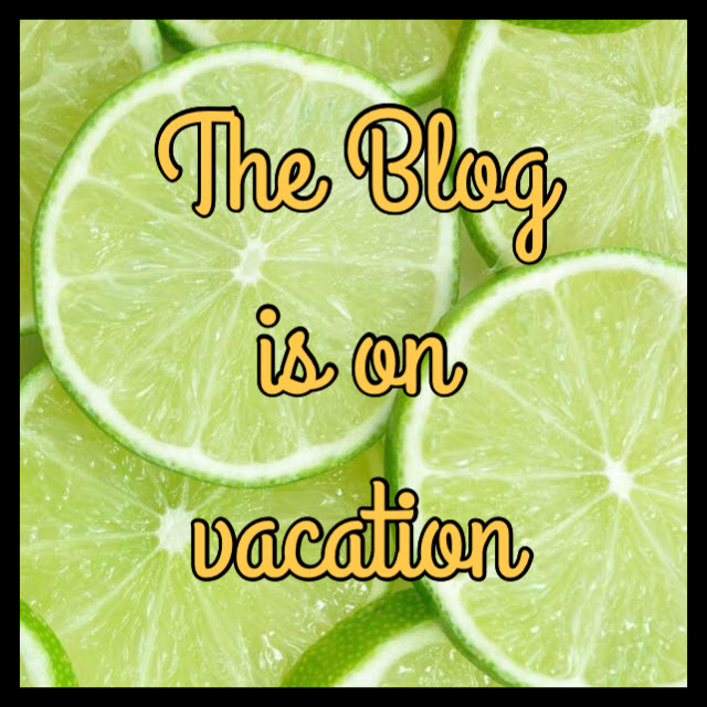 The Blog Is On Vacation…