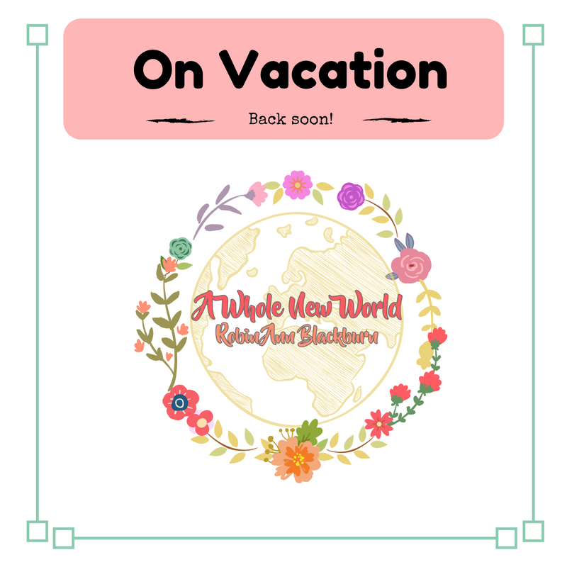 The blog is on vacation!