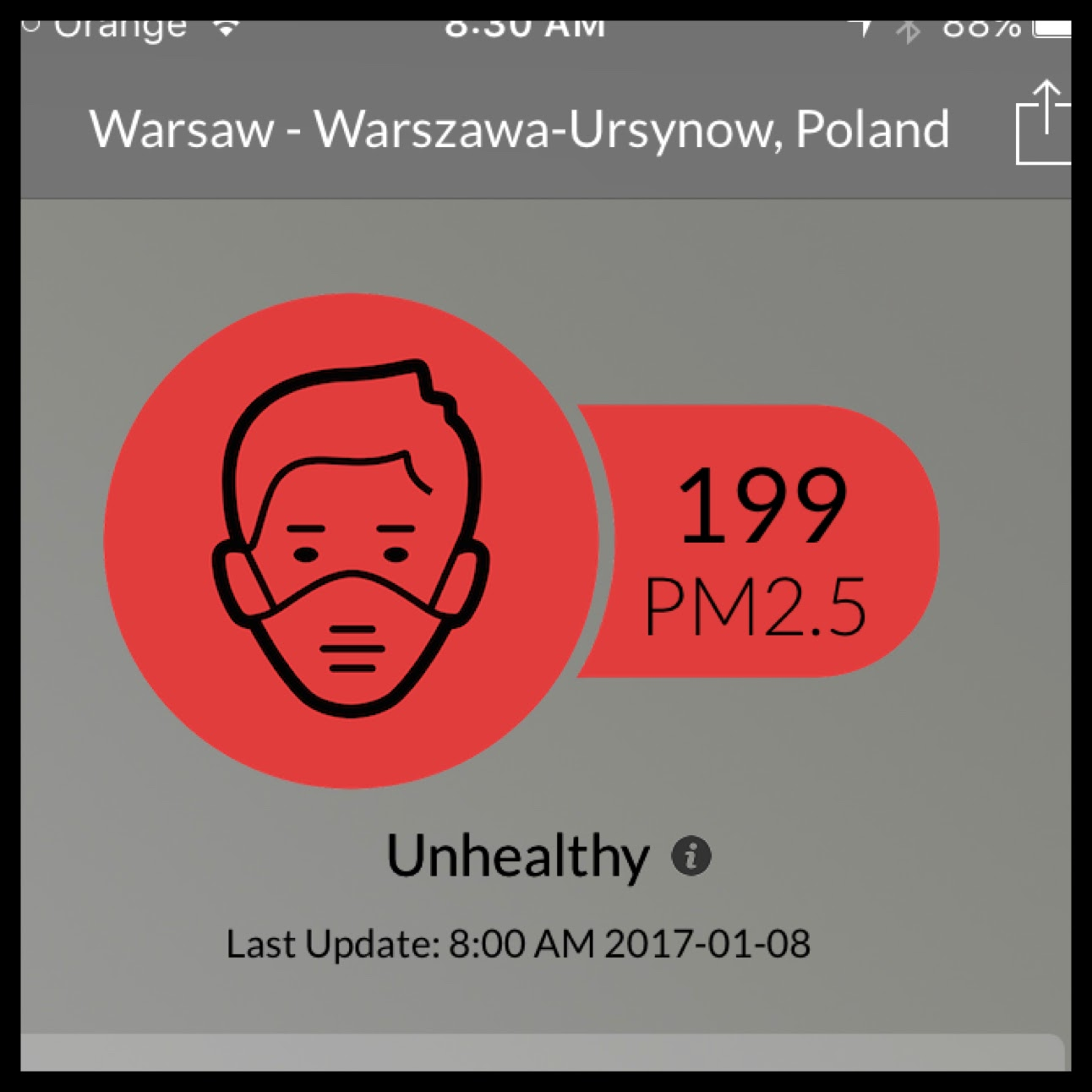 Haze…in POLAND!